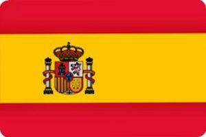 foto bandera españa con escudo