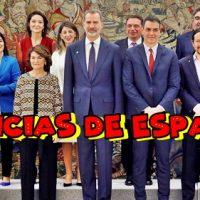 Noticias sobre la bandera española