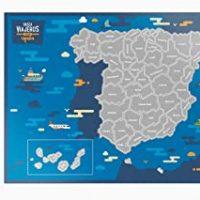 Rasca Viajeros Mapa rascable